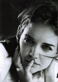 Katie Holmes by Peter Lindbergh, 2007
