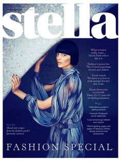 Stella Magazine March 2012 Katryn Kruger by James Meakin