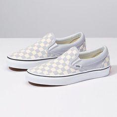 147d67f888d294 Checkerboard Slip-On  Sneakers Grey Slip On Vans