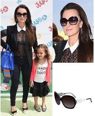 1c0d030b6b Kyle Richards is Wearing Sama Eyewear