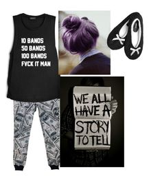 """""""Chillin with Mikey"""" by ur-local-emo ❤ liked on Polyvore featuring Avenue, women's clothing, women, female, woman, misses and juniors"""