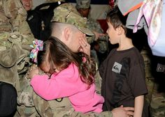 #Soldiers from the 44th Medical Brigade, XVIII Airborne Corps, are greeted by family and friends March 1, as they return to #Fort Bragg, N.C. after a yearlong #deployment to #Afghanistan.