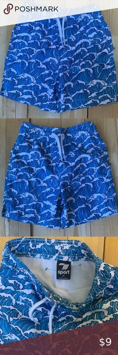 BOYS 2 NEW WITH TAGS AUTHENTIC VILEBREQUIN SWIM TRUNKS // SHORTS MONKEYS