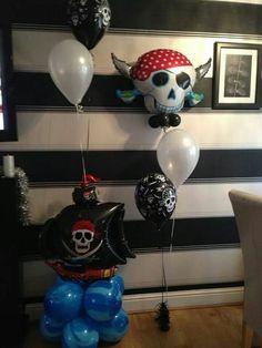 PIRATES  #theme #balloons #bellissimoballoons