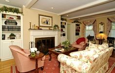Living room inside the Amityville house....damn I just love it though!