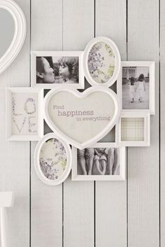 Multi Heart Collage Frame from Next Heart Collage, Collage Frames, Home Storage Solutions, Grand Designs, Room Accessories, Interior Design Tips, Dream Decor, Next At Home, New Room