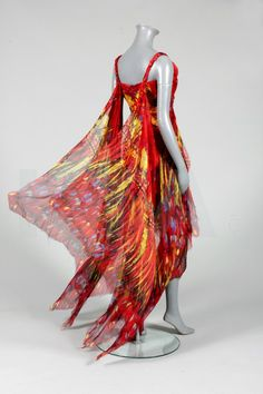 Alexander McQueen 'Irere' collection evening gown, Spring-Summer, 2003