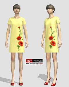 Dựng mẫu váy vẽ hoa trên kiểu váy suông bằng phần mềm thiết kế thời trang 3D để mọi người tham khảo đặt may và vẽ nhé. Bạn có thể mặc dạo phố hoặc tới công sở. Mẫu đặt may theo yêu cầu. Video thiết kế trên phần mềm thời trang 3D Marverlous Designer Thiết …