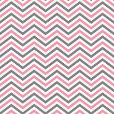 39ecd1e6d Papel de parede estampa Chevron nas cores rosa