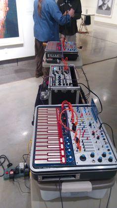 MATRIXSYNTH: Todd Barton and Bruce Bayard Buchla Music Easel Pi...