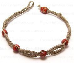 How to make hemp bracelets