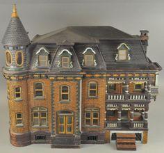 VICTORIAN DOLLS HOUSE : Lot 1754  .....Rick Maccione-Dollhouse Builder www.dollhousemansions.com