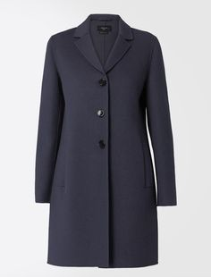Hand-stitched double wool coat Weekend Maxmara