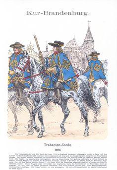Band XIII #16.- Preußen. Trabanten-Garde. 1690.