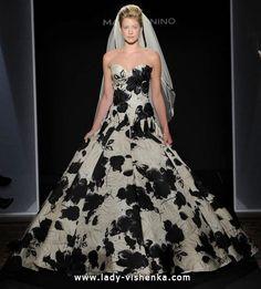 10. Schwarz Weiß Brautkleid  Alle Brautkleid Schwarz Weiß http://de.lady-vishenka.com/black-white-wedding-dress-2016/