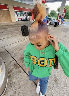 Black Girl Braided Hairstyles, Black Girl Braids, Braids For Black Hair, Girls Braids, Swag Outfits For Girls, Cute Swag Outfits, Dyed Natural Hair, Dyed Hair, Curly Hair Styles