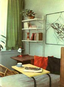 brusel expo '58: Domácnost Bookcase, Shelves, Design, Home Decor, Shelving, Decoration Home, Room Decor, Book Shelves