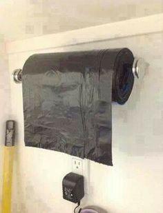 Great idea for utility closet