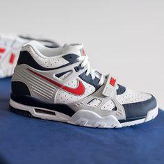 Nike Air Trainer 3 »USA« Herren-/ Frauenschuh weiß / blau