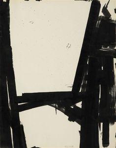 Franz Kline, Study for state cross, 1961