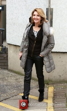 Picture - Kaye Adams at Upper Ground, London SE1 9LT London United ... -Contact the coolest stars free at StarAddresses.com London United, British, Winter Jackets, The Unit, Female, Stars, Tv, Celebrities, Lady