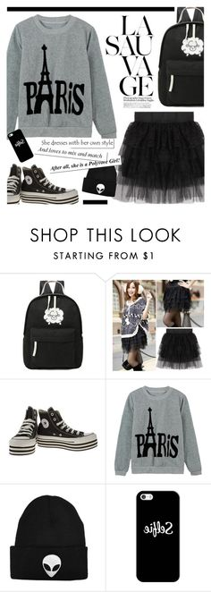 """""""TOMTOP 21"""" by novalikarida ❤ liked on Polyvore featuring Converse and Casetify"""