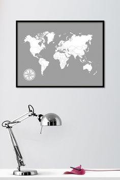 My Travel Map 2.0 on karttajuliste, johon voit värittää kaikki maat, joissa olet matkustanut. Kartasta saa kehystettynä mielenkiintoisen sisustustaulun ja se muuttuu kerta kerralta, kun palaat matkalta ja värität uuden kohteen. Karttajulisteen voi kehystää myös sellaisenaan. Kotimainen My Travel Map 2.0 -juliste on painettu laadukkaalle mattapintaiselle, päällystämättömälle paperille. www.camala-store.fi