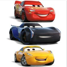 Excuse my obsession with Cars 3.