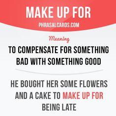 Make up for