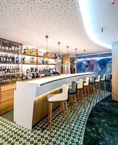Fresh and Colorful Cheese Bar by Jose Manuel Ferrero