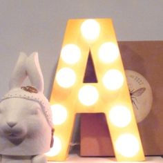Quick and easy DIY circus letter.