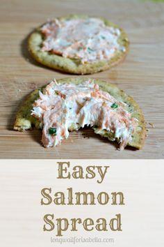 Easy Salmon Spread #BretonGlutenFree #CleverGirls #sponsored