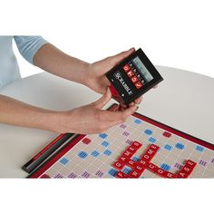 Scrabble Electronic Scoring game designed for Hasro by StudioHDD.