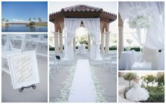 White Ceremony at Westin Lake Las Vegas Resort & Spa