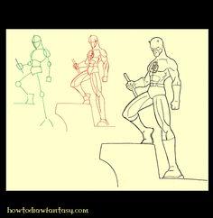 artzinefantastique.com: Comment dessiner Daredevil