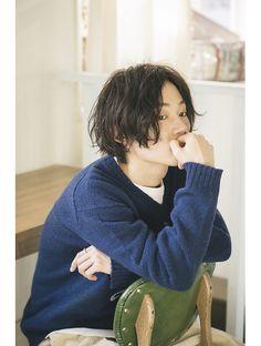 Haircuts For Long Hair, Boy Hairstyles, Haircuts For Men, Medium Hair Styles, Curly Hair Styles, Cute Korean Boys, Hair Designs, Hair Inspo, Hair Trends