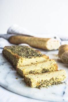 Vegan Baked Herbed Cashew Cheese