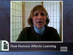 Just found this article from NEA that shows me on Canada PBS How Humour Affects Learning