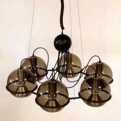 Saturnus Hanging Lamp by Unknown Designer for Raak Amsterdam