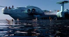 We all know of the unbelievably massive Lun class ekranoplan? This type of…