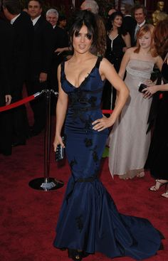 2005 - Style Evolution: Salma Hayek - Photos