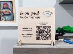 Wifi Password, Interaktives Design, Media Design, New Business Ideas, Business Cards, Laser Cutter Ideas, Home Bar Designs, Laundry Signs, Gift Packaging