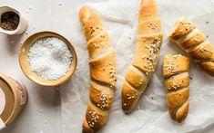 Pampered Chef, Pretzel Bites, Bread Baking, Hot Dog Buns, Food And Drink, Veggies, Snacks, Ethnic Recipes, Baguette