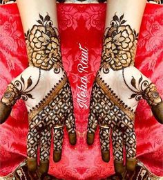 10 Best Mehndi Designs Name List Which are in Trend of 2018 Finger Henna Designs, Unique Mehndi Designs, Wedding Mehndi Designs, Mehndi Designs For Fingers, Beautiful Henna Designs, Arabic Mehndi Designs, Henna Tattoo Designs, Hena Designs, Mehndi Design Pictures