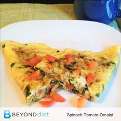 Spinach Tomato Omele