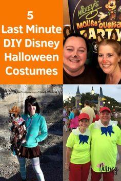 5 Last Minute Disney DIY Halloween (or DisneyBounding) Costumes - Disney Park Princess