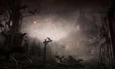 wtfindigo: Diablo III Concept Art I can always... - HorribleNight.com Inventory