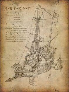 Airship Steampunk