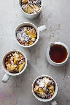 Four-ingredient French toast in a mug