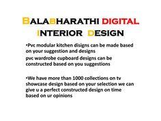 digital interior design digital modular kitchen - balabharathi